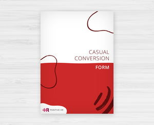 Casual Conversion Form