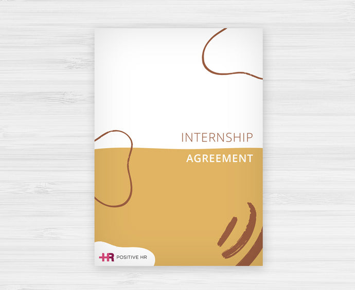 Internship Agreement