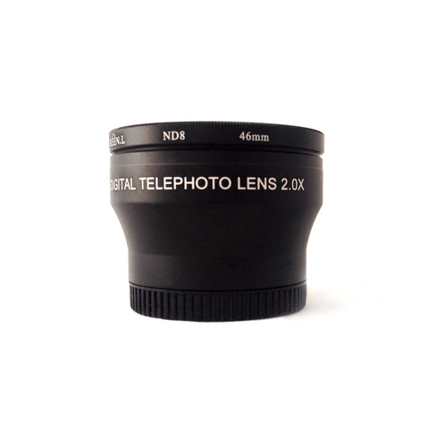 37mm Telephoto Lens  2.0x for Makayama and iOgrapher