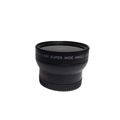 37mm Dual 0.45X Wideangle/ Macro Lens for Makayama Mount and iographer