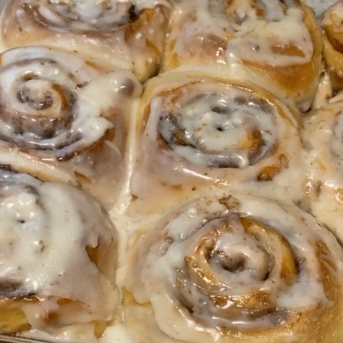 Anabolic Cinnamon Rolls - PetroPowered Pastries