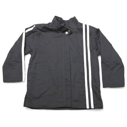 Mill & Mia - Boys Charcoal Fleece Racer Coat | Coats & Jackets | Bon Bon Tresor