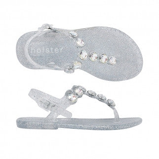 Holster Shoes - Kids Glitter Glamour Rainbow Sandals | Sandals | Bon Bon Tresor