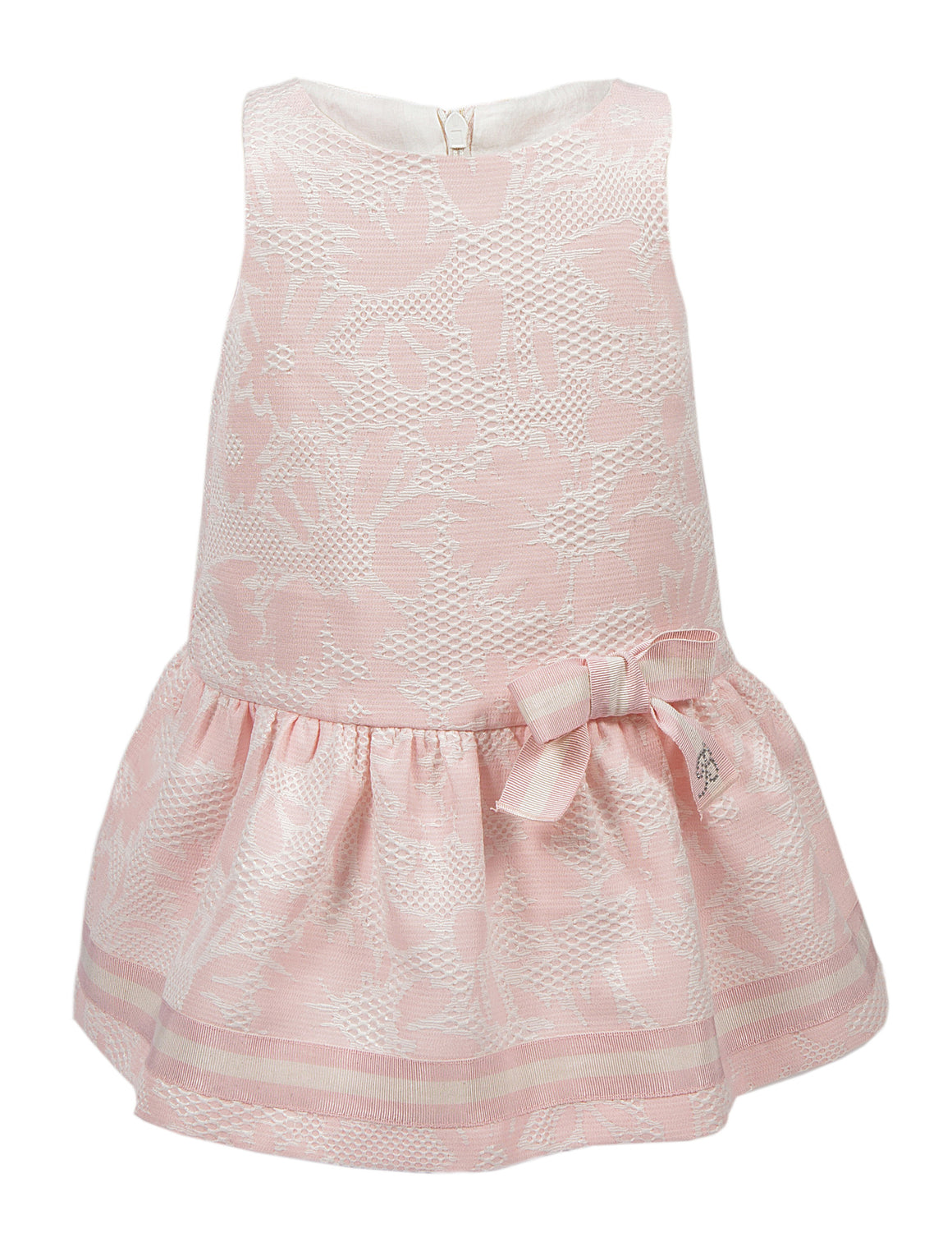 Balloon Chic - Girls Pink Sleeveless Party Dress | Party Dresses | Bon Bon Tresor
