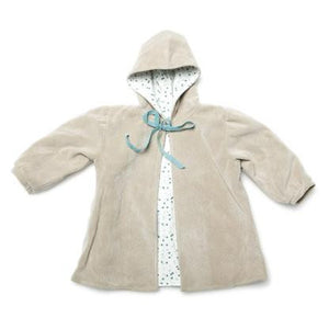 Mill & Mia - Baby Girl Cream Gathered Sleeve Coat | Coats & Jackets | Bon Bon Tresor