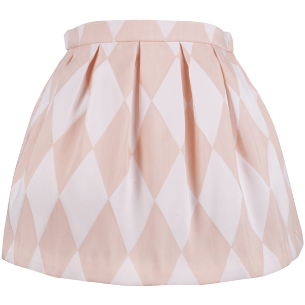 Hucklebones - Girls Harlequin Box Pleat Skirt | Dresses & Skirts | Bon Bon Tresor