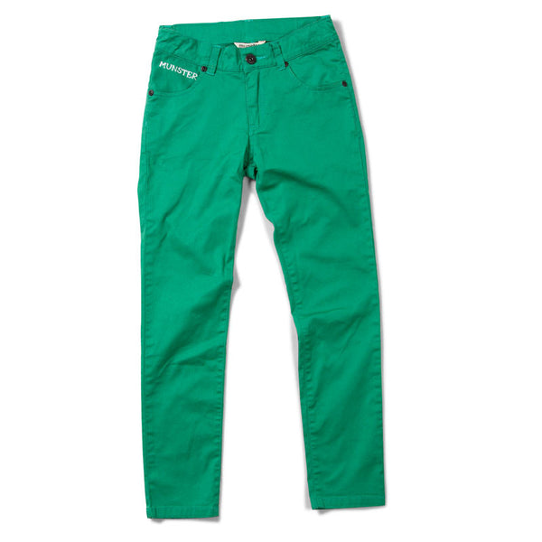 Munster Kids - Boys Threads Green Jeans - Bon Bon Tresor - 1