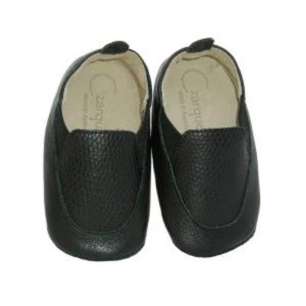 Czarque Baby Shoes- Baby Boy Black Snake Urbane Loafers - Bon Bon Tresor