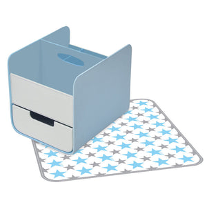 b.box - Nappy Caddy Blue Lagoon | Nappy Accessories | Bon Bon Tresor