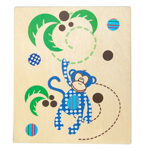 Cocoon Couture - Mini Monkey Kids Wall Art | Wall Decor | Bon Bon Tresor