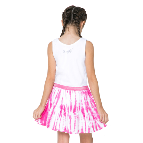 6e962482913 Desigual Kidswear - Girls Heart Motif Moroni Dress - Bon Bon Tresor