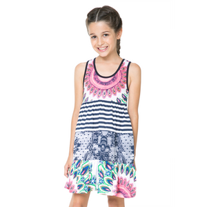 Desigual Kidswear - Girls Lincoln Dress | Dresses & Skirts | Bon Bon Tresor