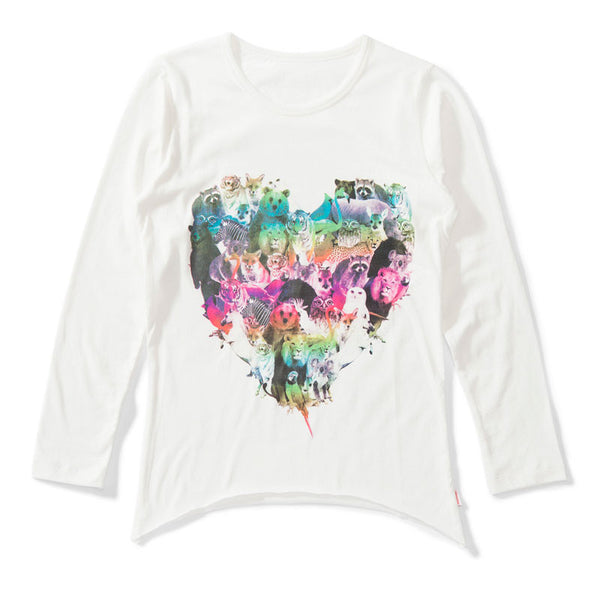 Lil Missie Munster - Baby Girl Long Sleeve Wilted Top | Tops & T-Shirts | Bon Bon Tresor