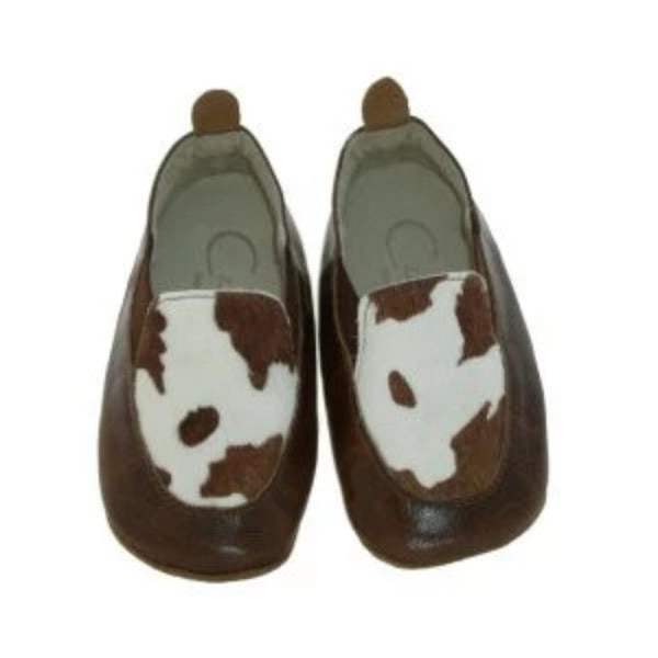 ae4e9ffb98cb Czarque Baby Shoes- Baby Boy Cow Print Urbane Loafers | Moccasins & Loafers  | Bon ...