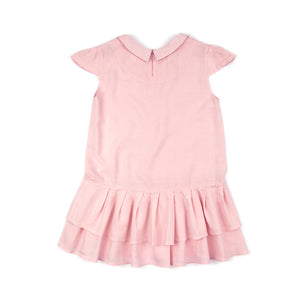Sudo Kids - Pink Lara Tiered Dress | Dresses & Skirts | Bon Bon Tresor
