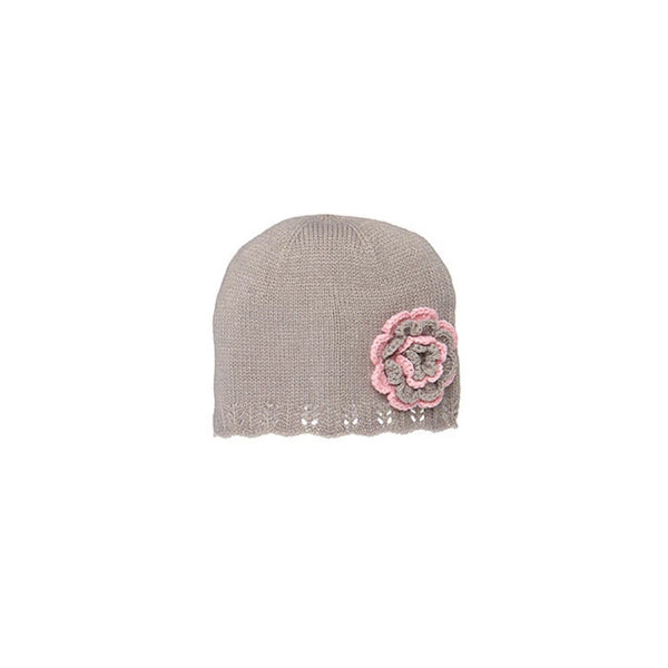Toshi - Girls Holly Dove Beanie Hat - Bon Bon Tresor