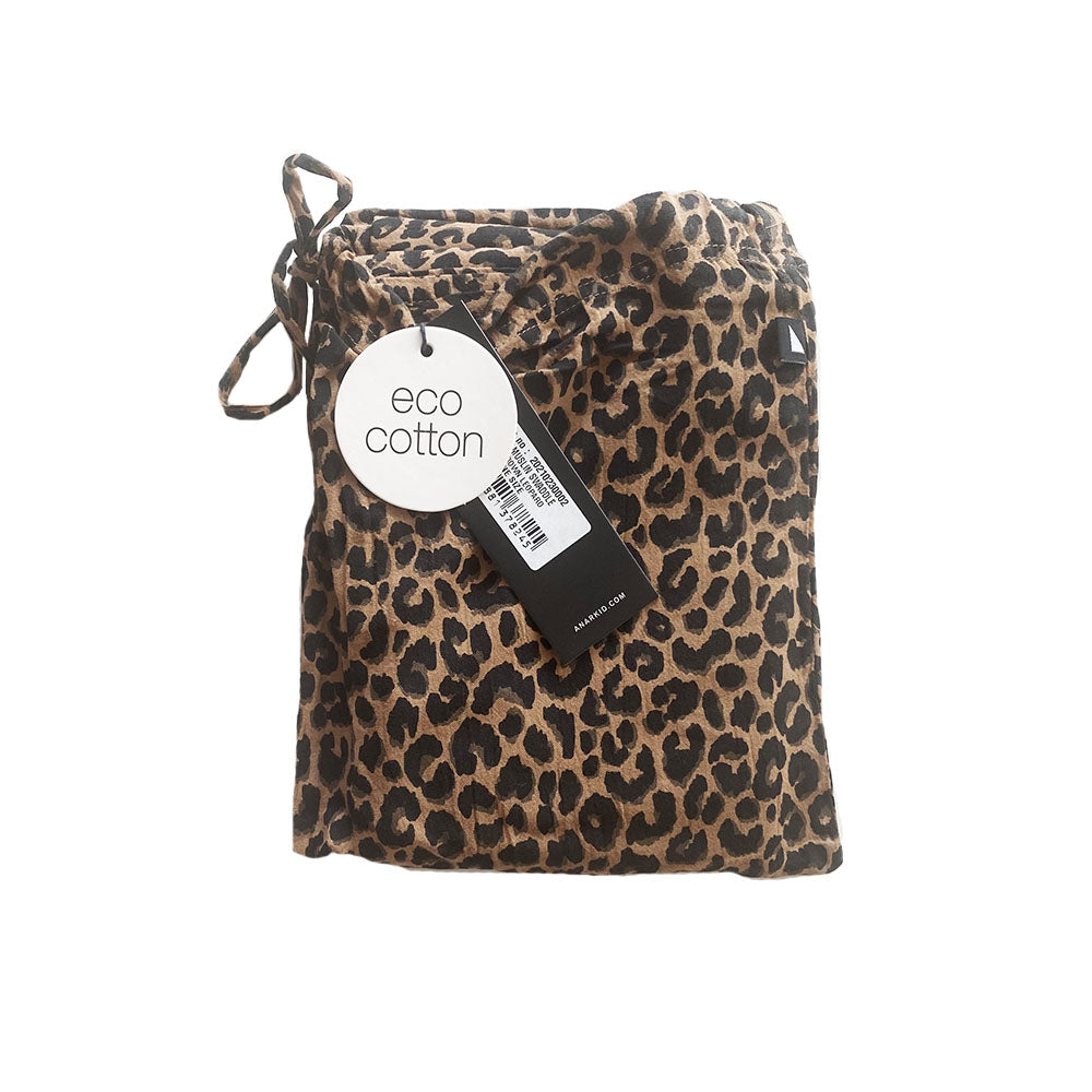 Anarkid - Muslin Swaddle Brown Leopard | Wraps & Swaddles | Bon Bon Tresor