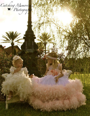 A Memory To Behold - A One Of A Kind Baby Girl Christening Gown | Christening Gown & Dresses | Bon Bon Tresor