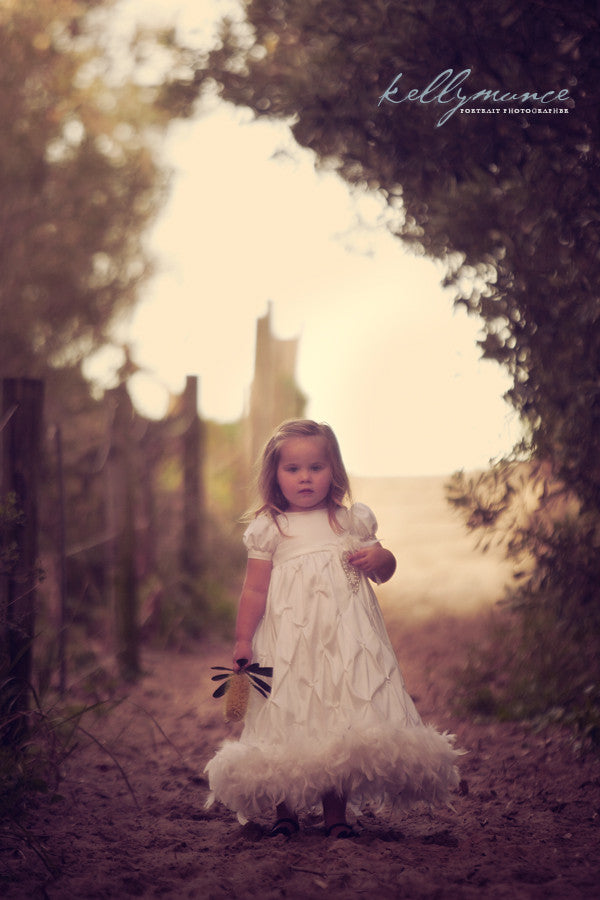 Angel Kissed Sunshine - A Christening Dress For Your Little Piece Of Heaven | Christening Gown & Dresses | Bon Bon Tresor