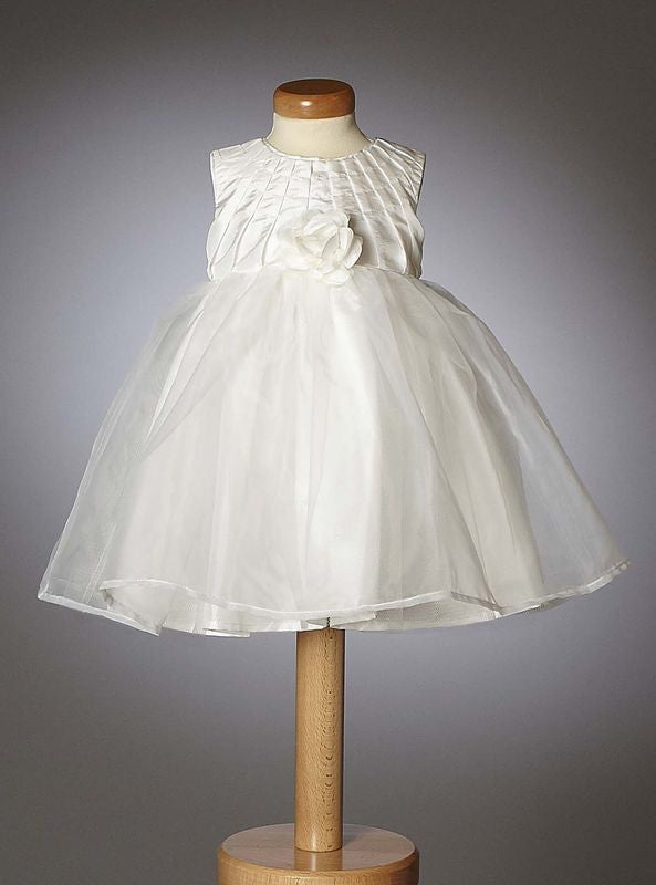 Christening - Baby Girl Organza Constance Dress | Christening Gown & Dresses | Bon Bon Tresor
