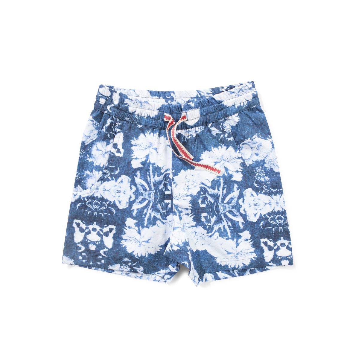 Munster Kids - Boys Navy Bleach Wash Shorts | Pants & Shorts | Bon Bon Tresor