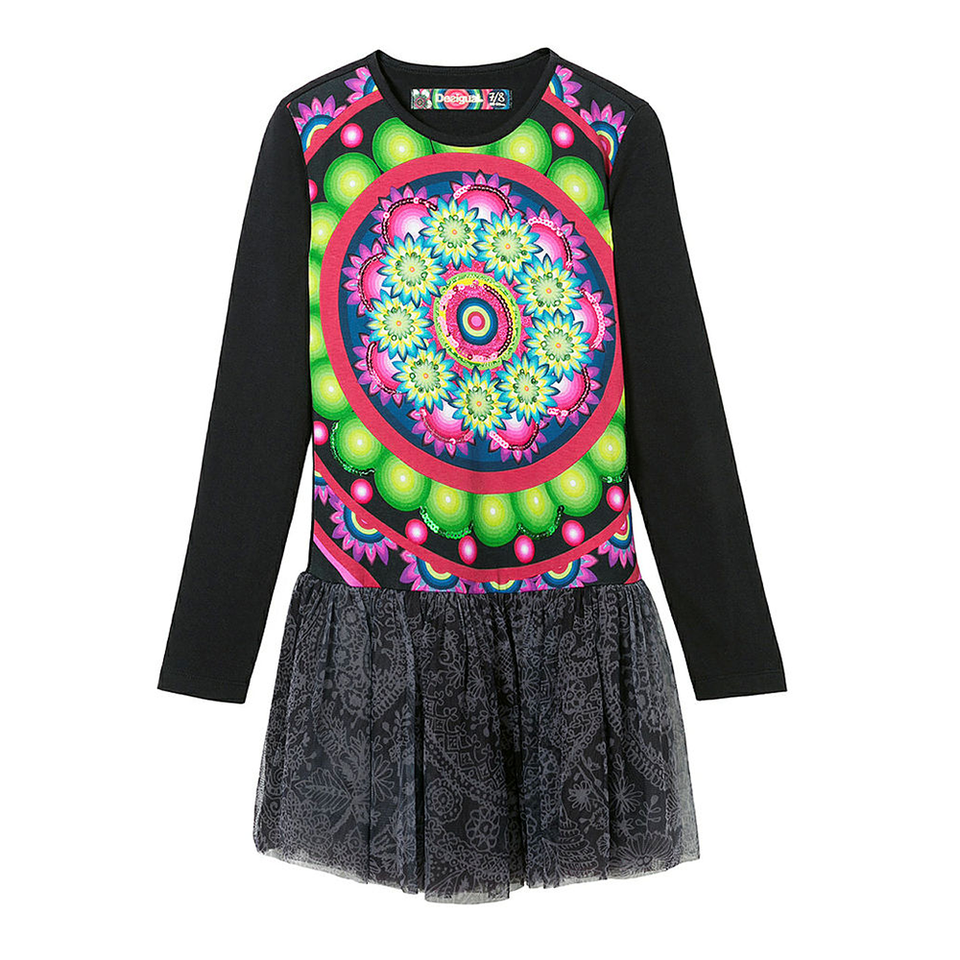 Desigual Kidswear - Girls Maseru Sequins Bodice Dress | Dresses & Skirts | Bon Bon Tresor