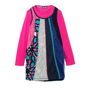 Desigual Kidswear - Girls Two Piece Saint Paul Dress | Dresses & Skirts | Bon Bon Tresor
