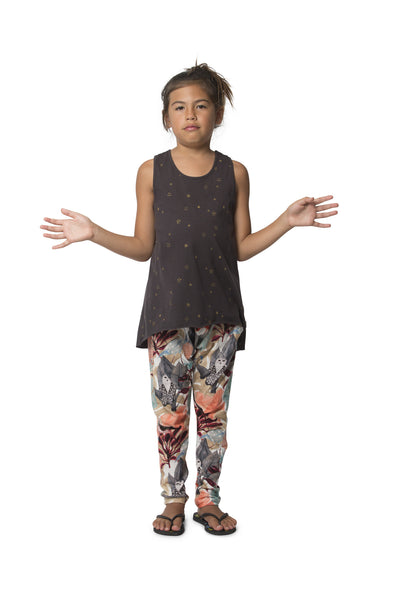 Missie Munster - Girls Relaxed Jungle Pants - Bon Bon Tresor - 2
