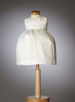 Christening - Baby Girl Rouched Bodice Grace Dress | Christening Gown & Dresses | Bon Bon Tresor