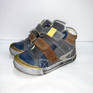 Lea Lelo - Boys Grey/Navy Winter Boot | Boots | Bon Bon Tresor