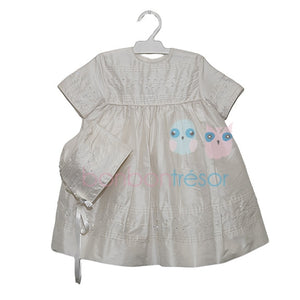 Christening - Baby Girl Silk with Swarovski Dress | Christening Gown & Dresses | Bon Bon Tresor