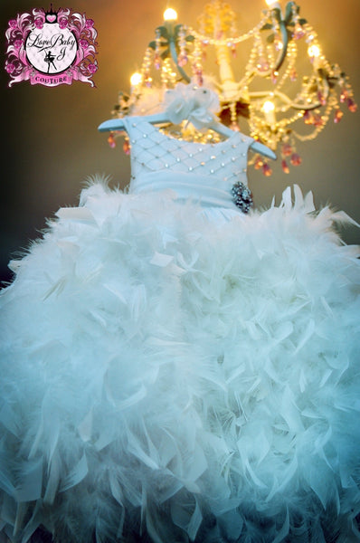 Magical Fairytale  - A Girls White Dress That Dreams Are Made Of - Bon Bon Tresor - 1
