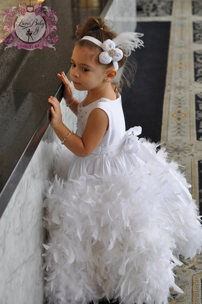 Magical Fairytale  - A Girls White Dress That Dreams Are Made Of - Bon Bon Tresor - 2