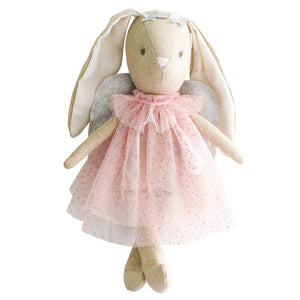 Alimrose Designs - Mini Angel Bunny Pink | Dolls & Soft Toys | Bon Bon Tresor