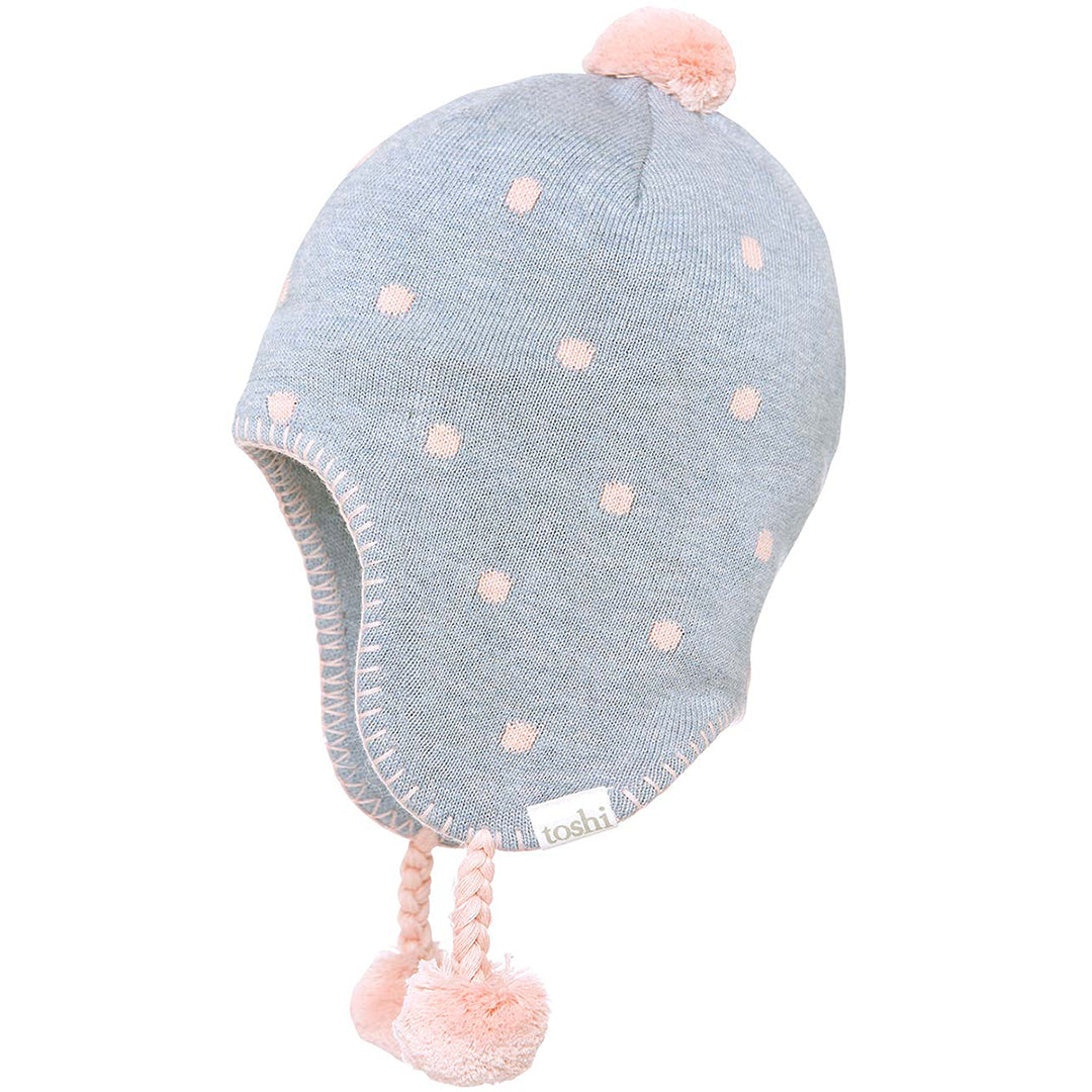 Toshi - Organic Earmuff Magic Blue Moon | Beanie | Bon Bon Tresor