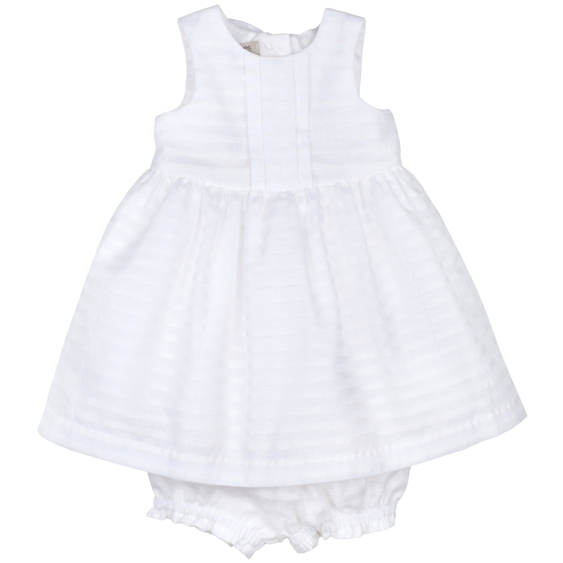 Hucklebones - Baby White Organza Bodice Party Dress | Party Dresses | Bon Bon Tresor