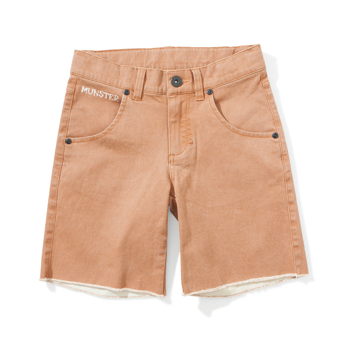 Munster Kids - Boys Orange RipOff Shorts | Pants & Shorts | Bon Bon Tresor
