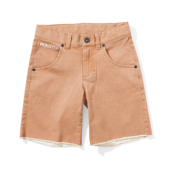 Munster Kids - Boys Orange RipOff Shorts - Bon Bon Tresor - 1