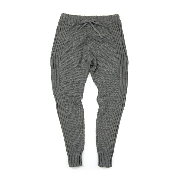 Sudo Kids - Girls Grey Studio Cotton Knit Pants | Pants & Shorts | Bon Bon Tresor