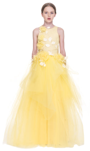 Mischka Aoki - The Princess and The Glass Slipper Couture Dress | Party Dresses | Bon Bon Tresor
