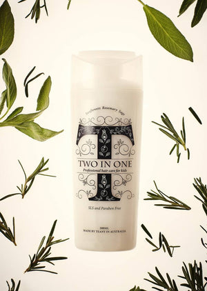 TEANY - Non Toxic Kids Two In One Shampoo & Conditioner | Shampoo | Bon Bon Tresor