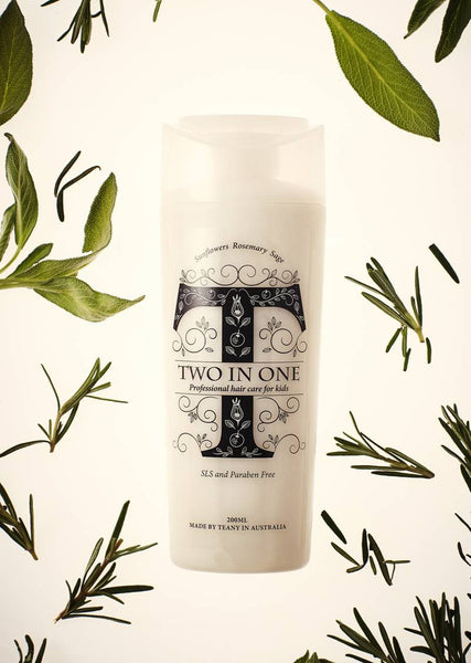 TEANY - Non Toxic Kids Two In One Shampoo & Conditioner - Bon Bon Tresor