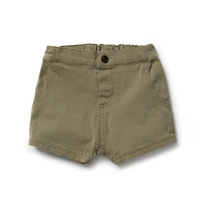 Wilson and Frenchy - Fern Green Slouch Shorts | Pants & Shorts | Bon Bon Tresor