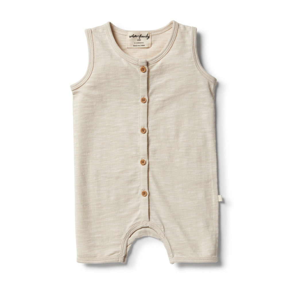 Wilson and Frenchy - Birch Boyleg Growsuit | Rompers & Playsuits | Bon Bon Tresor