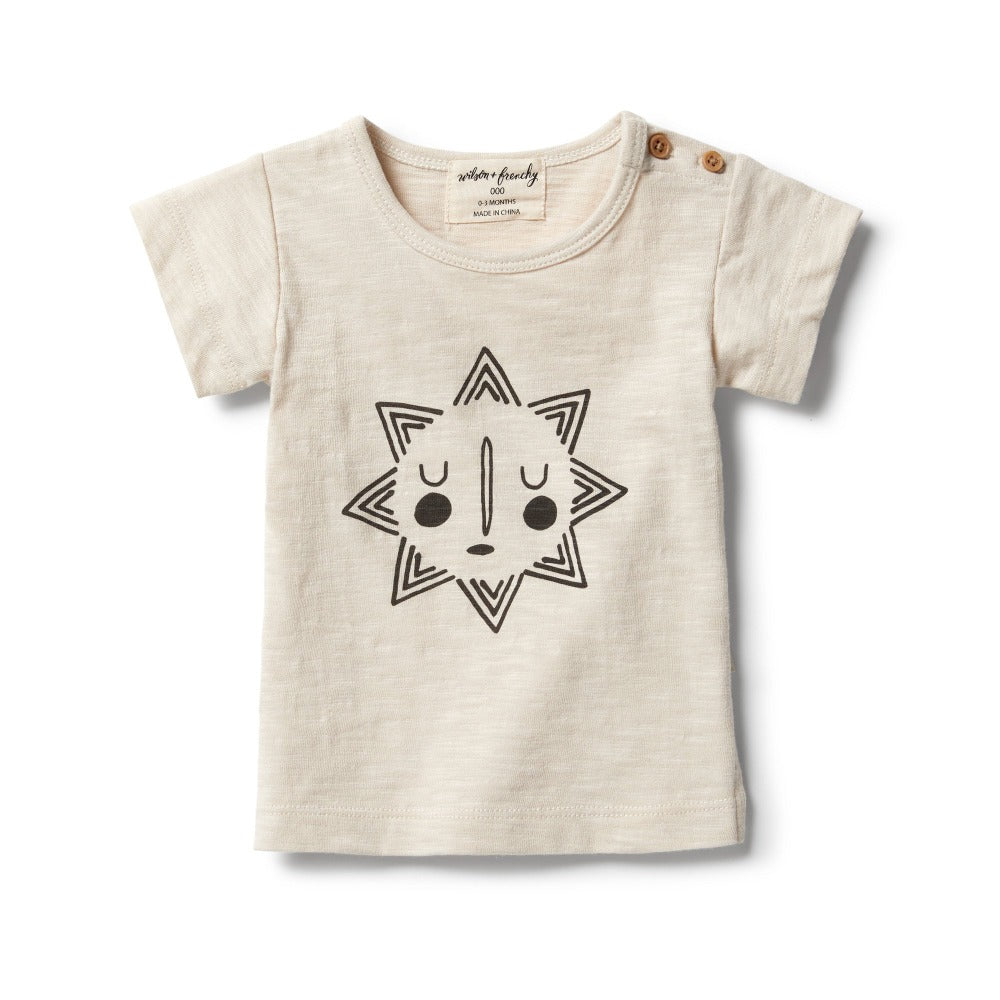 Wilson and Frenchy - Smiling Sun Short Sleeve Tee | Tops & T-Shirts | Bon Bon Tresor