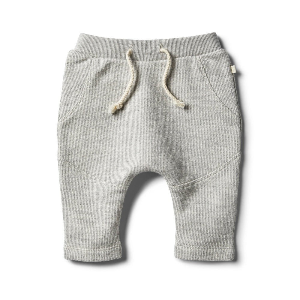 Wilson and Frenchy - Oatmeal Speckle Sweat Pant | Pants & Shorts | Bon Bon Tresor