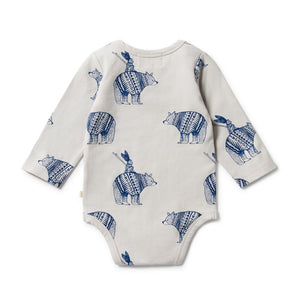 Wilson and Frenchy - Organic Envelope Bodysuit Little Adventures | Rompers & Playsuits | Bon Bon Tresor
