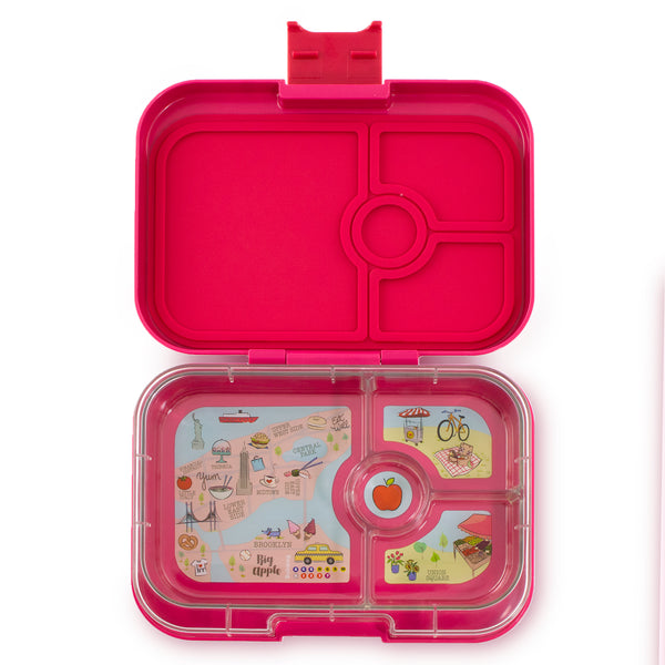 Yumbox Panino Lunch Box - Tribeca Pink (4 Compartment)
