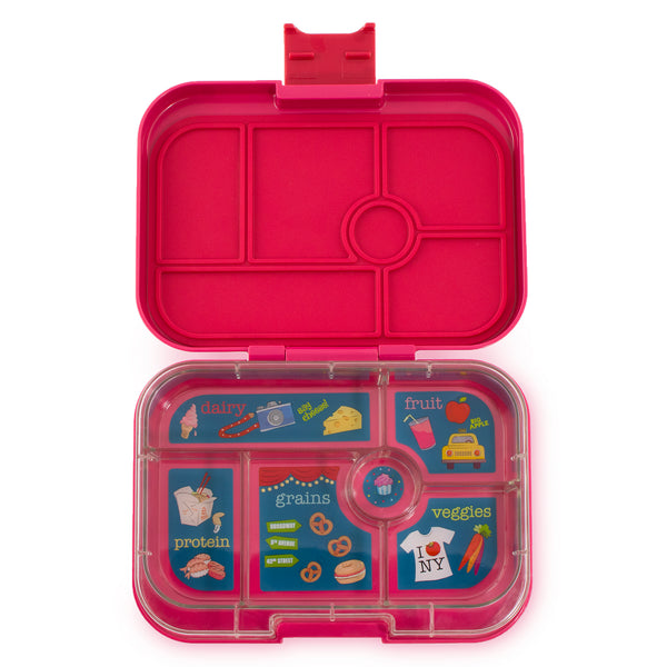 Yumbox Original Bento Lunch Box - Tribeca Pink