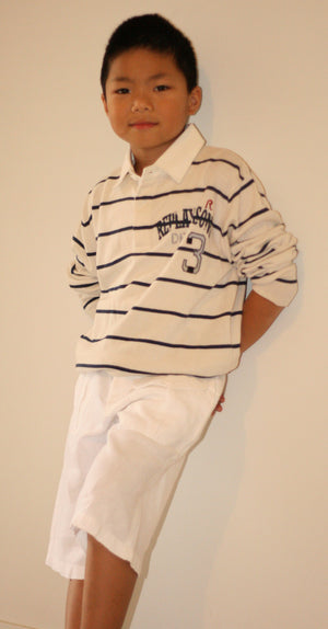 Replay & Sons - Boys Polo Shirt & Bermuda Shorts(Sold Separately) | Tops & T-Shirts | Bon Bon Tresor
